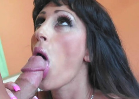 Tattooed MILF Deja is getting fucked